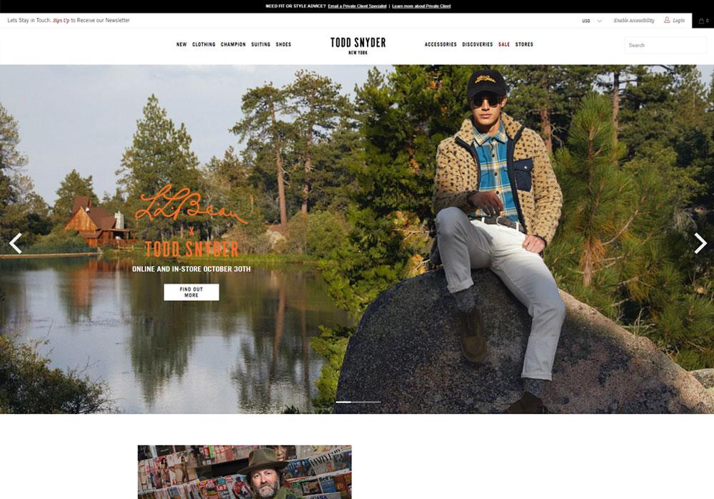Todd Snyder Online Shop