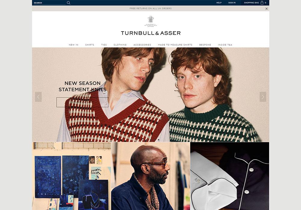 Turnbull & Asser Online Shop
