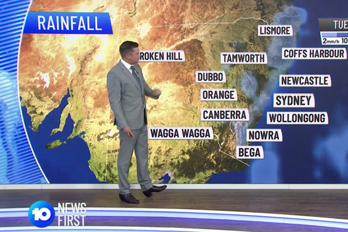Trailblazing Australian Weatherman Takes 'R.M. Williams & A Suit' To New Heights