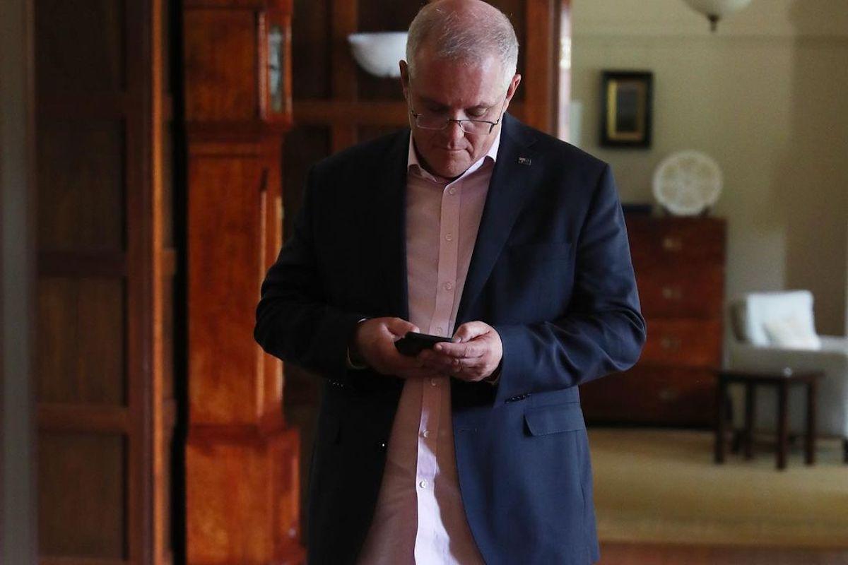 Prime Minister Scott Morrison's Quarantine Fit Is The Most Australian Thing Ever
