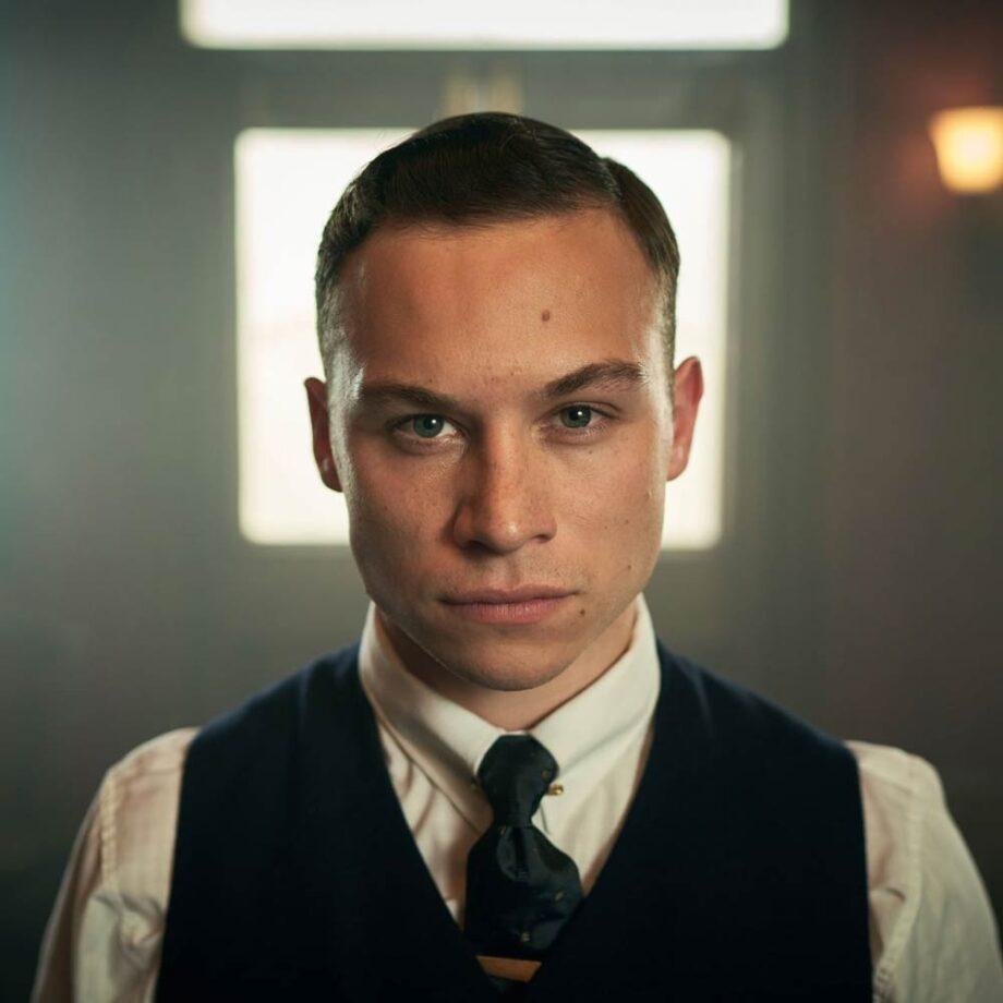 Finn Cole as Michael Gray in Peaky Blinders