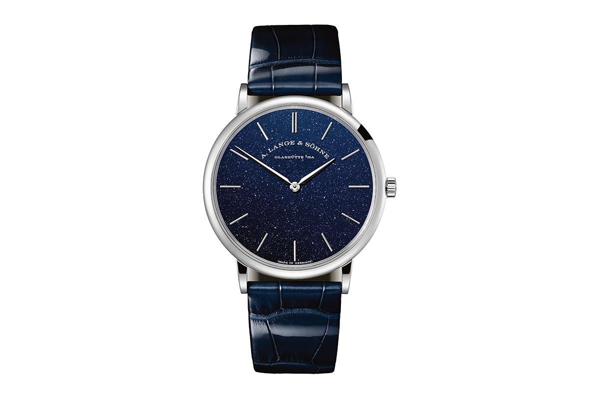 Saxonia Thin Copper Blue