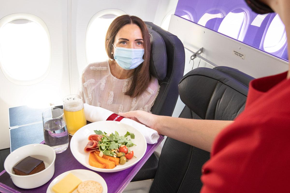 Virgin Australia's 'Yuppie' New Business Class Menu Sums Up Australia In 2021