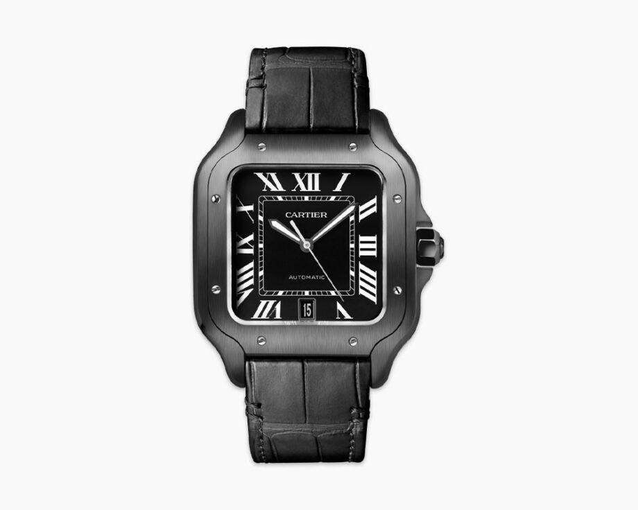 Cartier - Santos de Cartier, Black