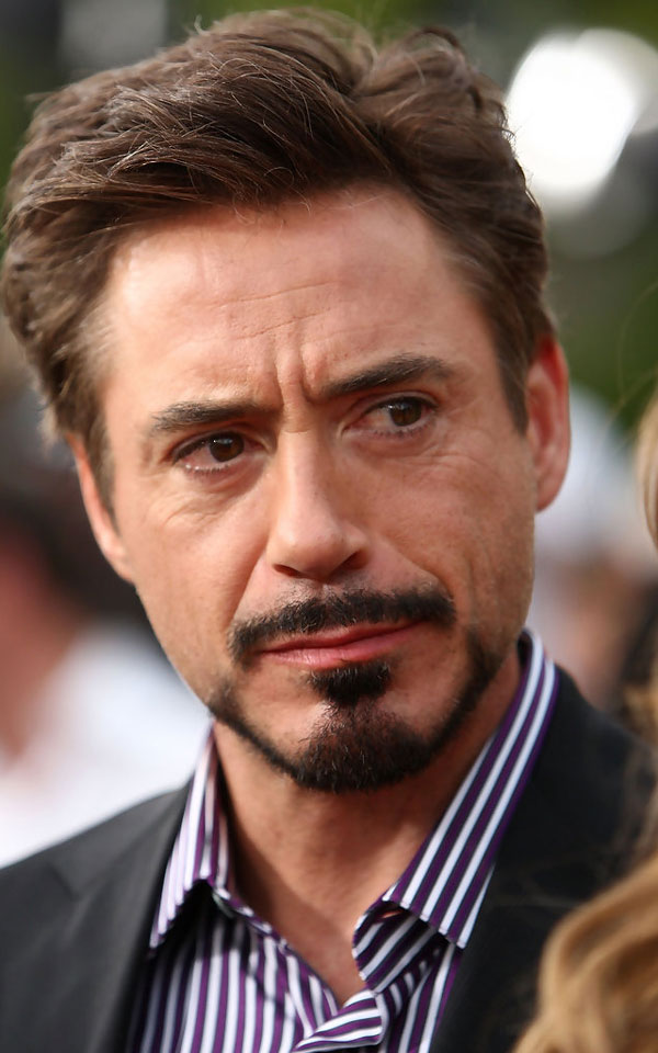 Robert Downey Jr. with Anchor Goatee