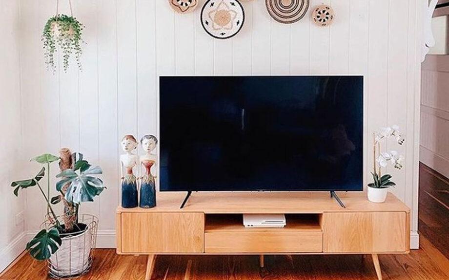 Temple & Webster wooden TV unit