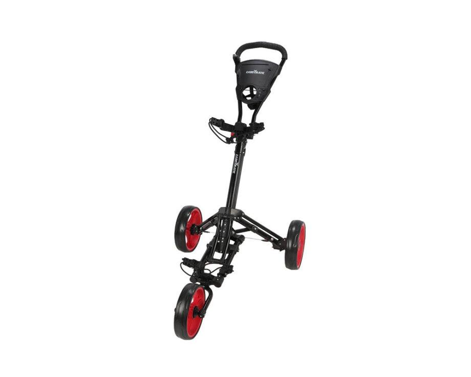 Caddymatic golf push cart