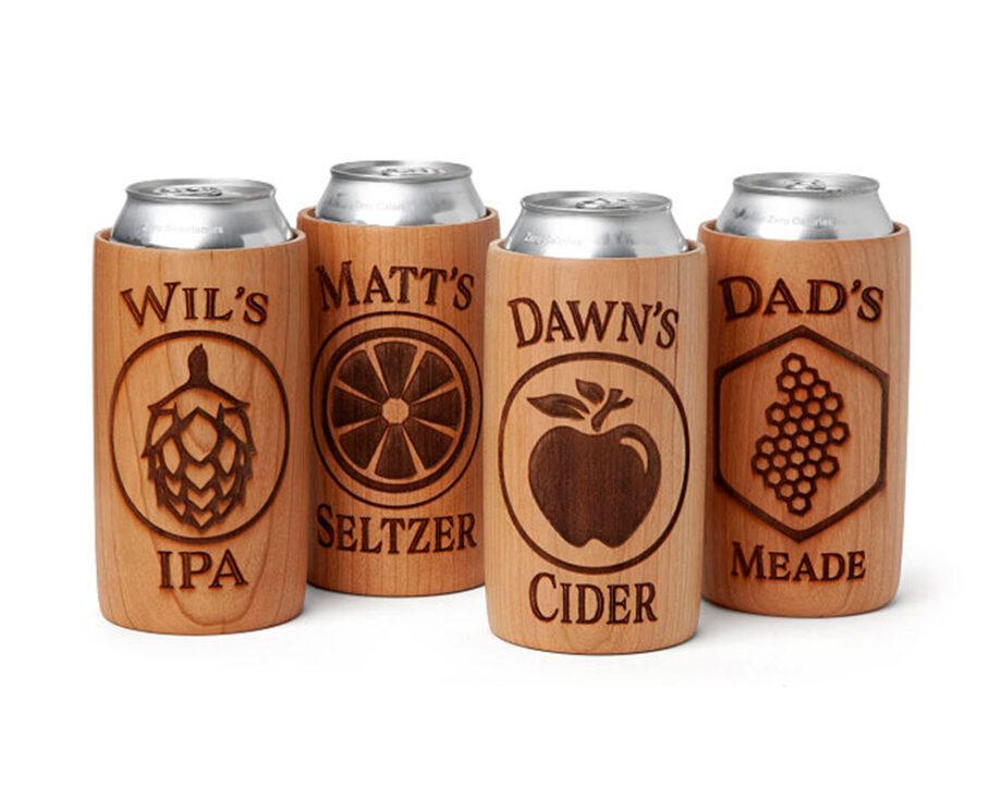Custom Wood Drink Chillers