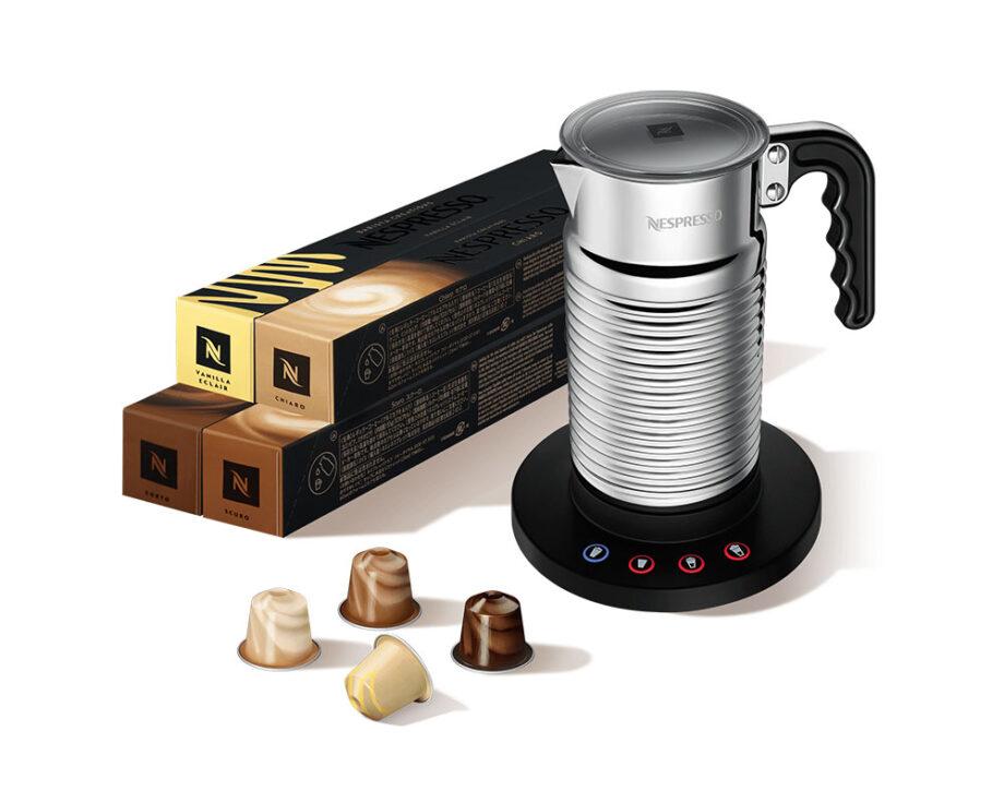 Nespresso Milk Frother Bundle