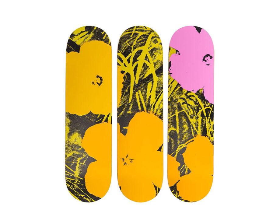 The Skateroom x Andy Warhol Skate Decks Set
