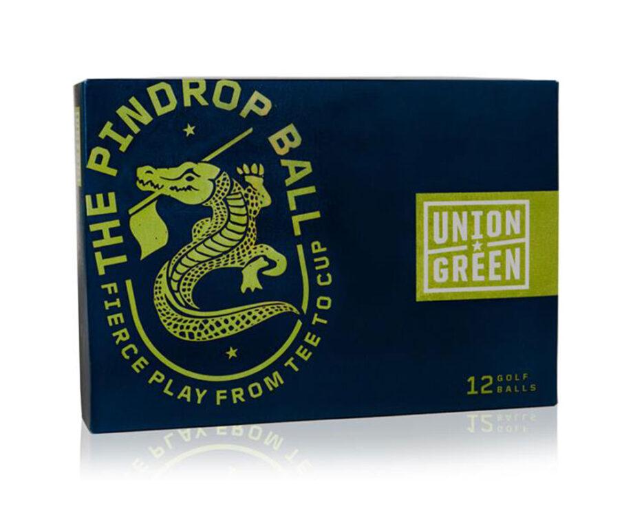 Union Green Pindrop golf balls