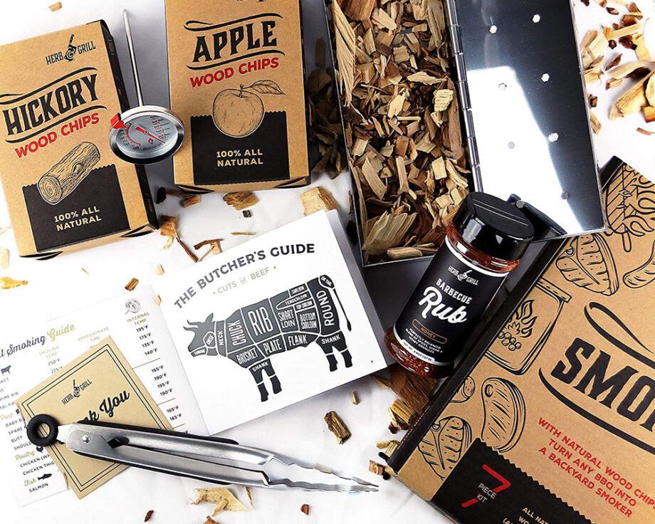Wood Chip Smoking Kit