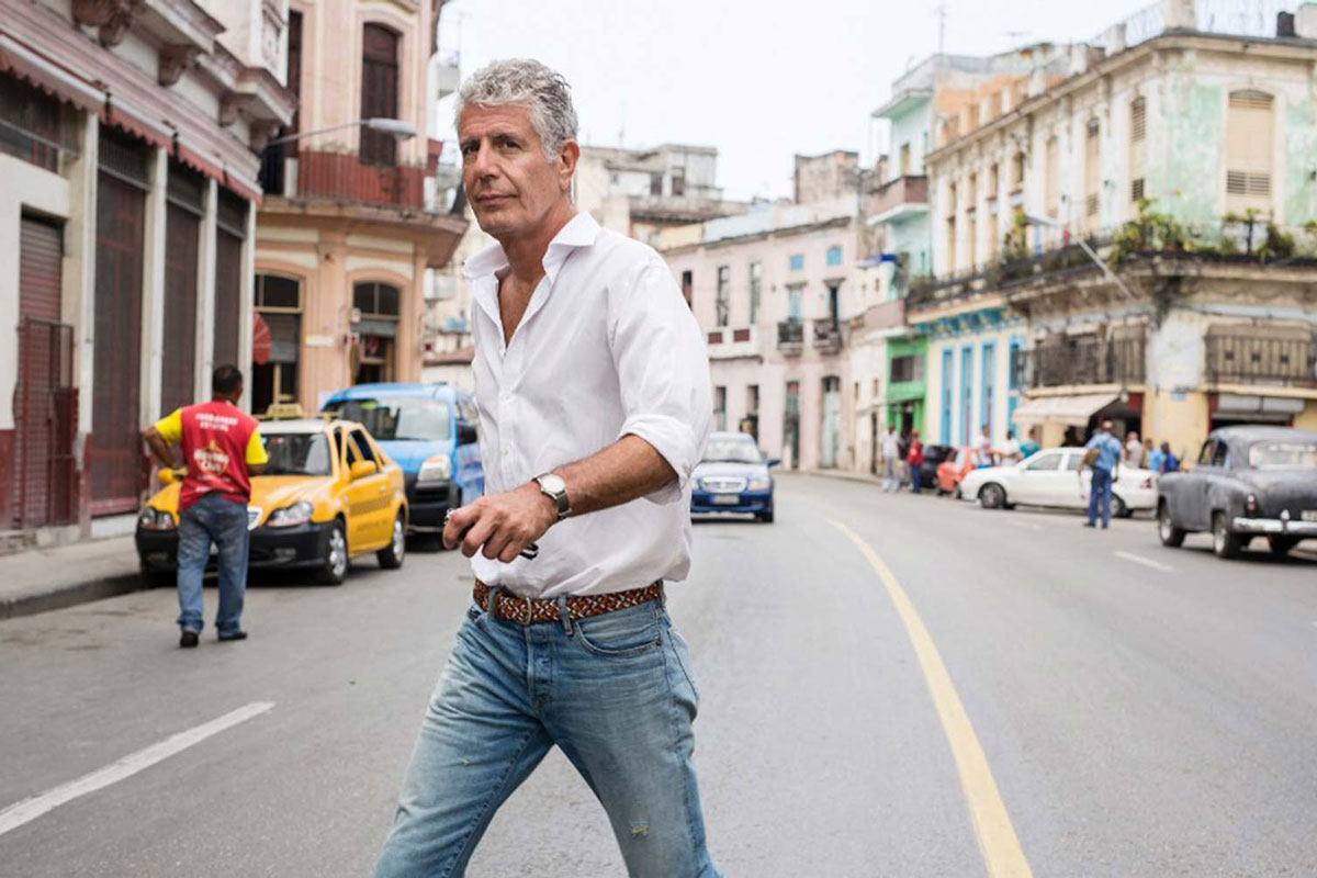 This Anthony Bourdain Quote Completely Changed How I Travel