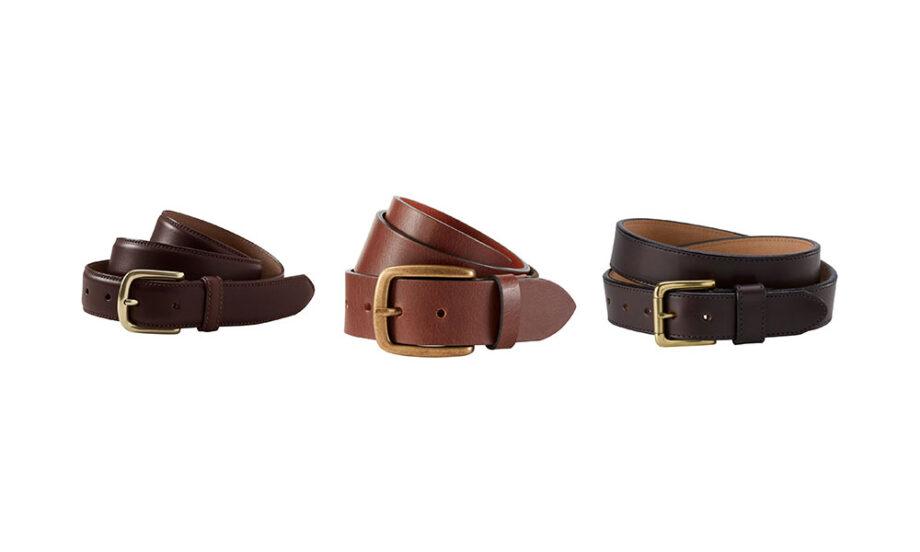Dmarge best belts men L.L. Bean