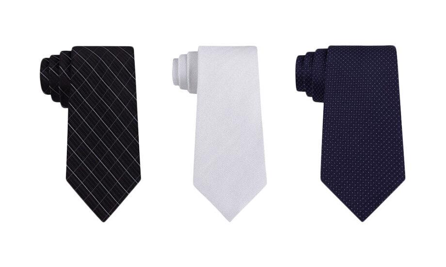 Dmarge best tie brands Calvin Klein