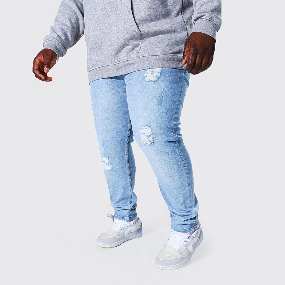 Dmarge big-tall-jeans Boohoo Man
