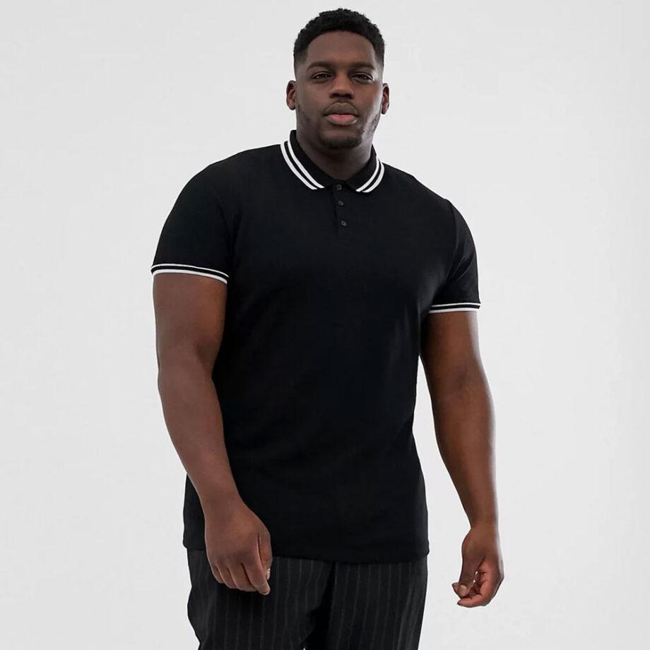 Dmarge big-tall-polo-shirts ASOS Design