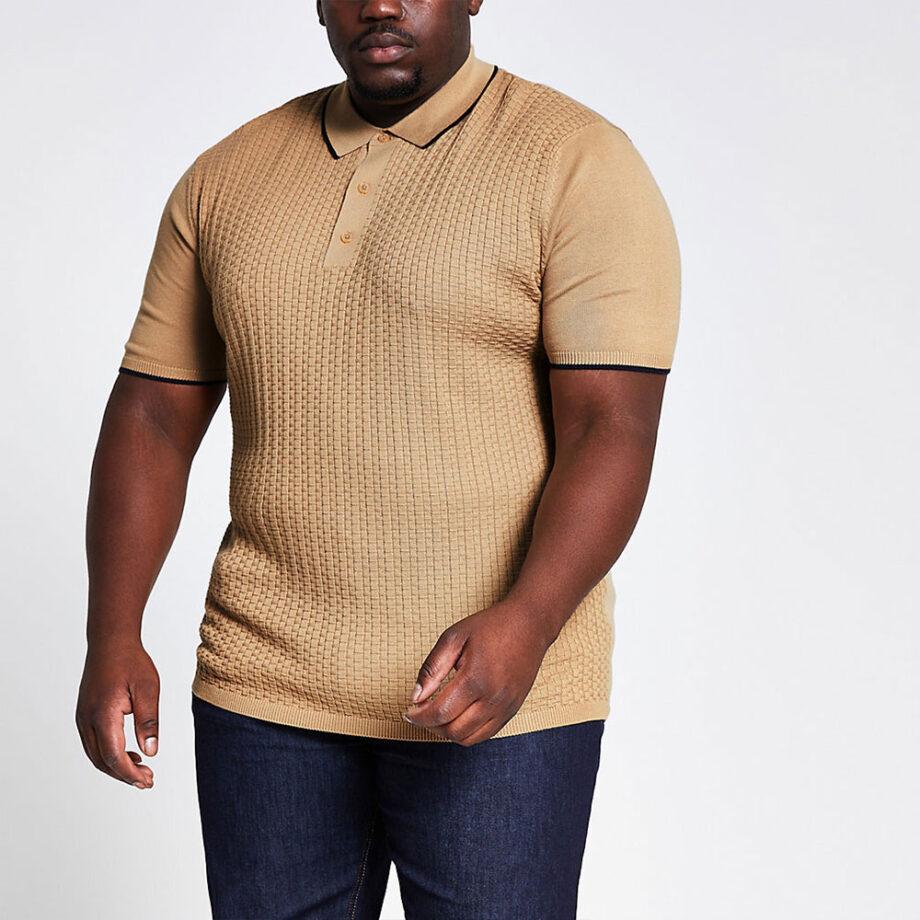 Dmarge big-tall-polo-shirts River Island