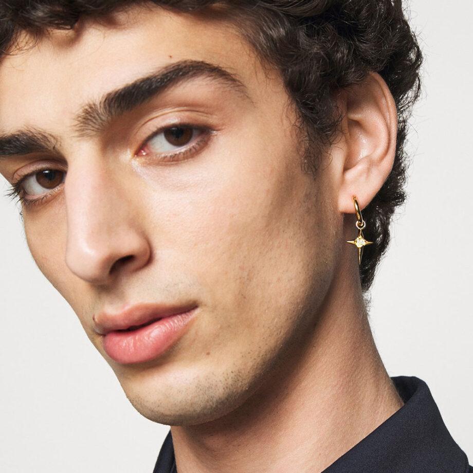 Dmarge cool-earrings-men Northskull