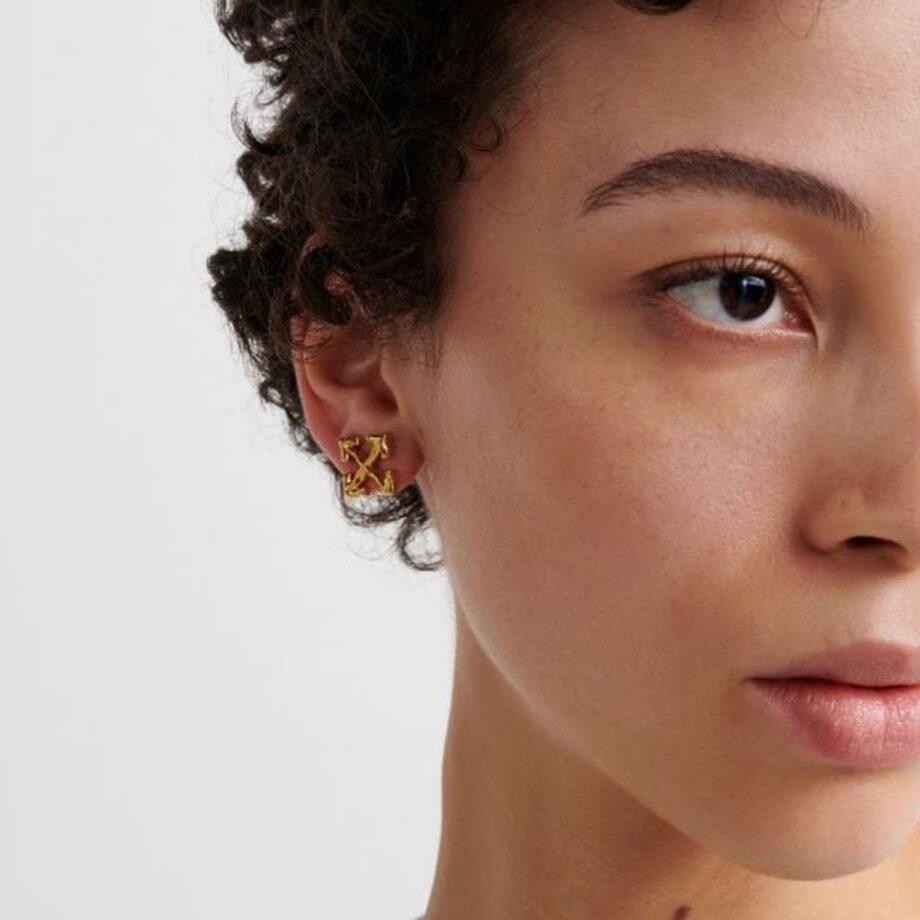 Dmarge cool-earrings-men Off White
