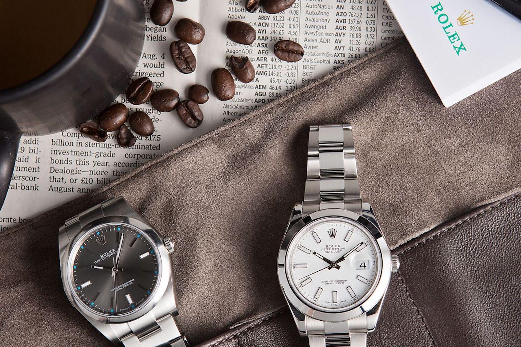 Scotland's 'Rolex Deliveroo' Service Perfect For Australia's Luxury Lockdown Woes