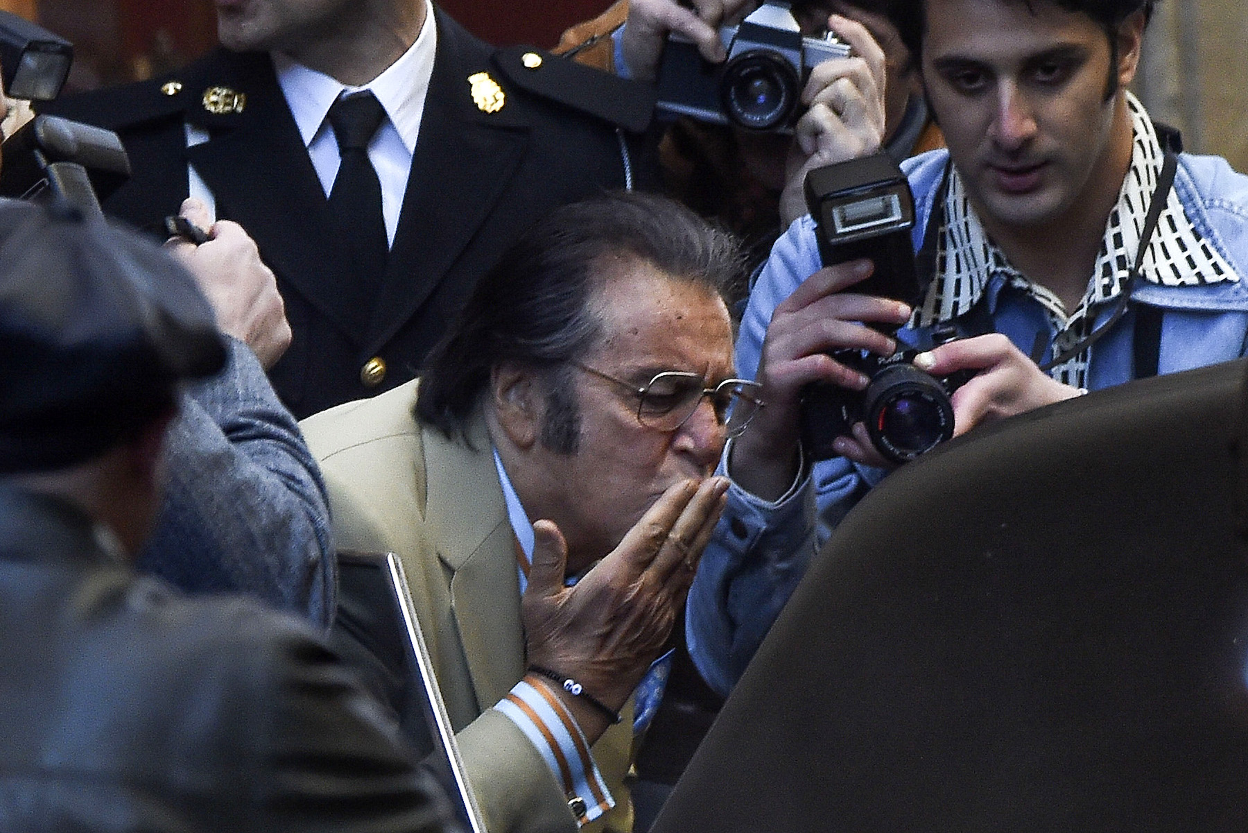 'House Of Gucci' Watch Fail Suggests Al Pacino Has A Time Machine