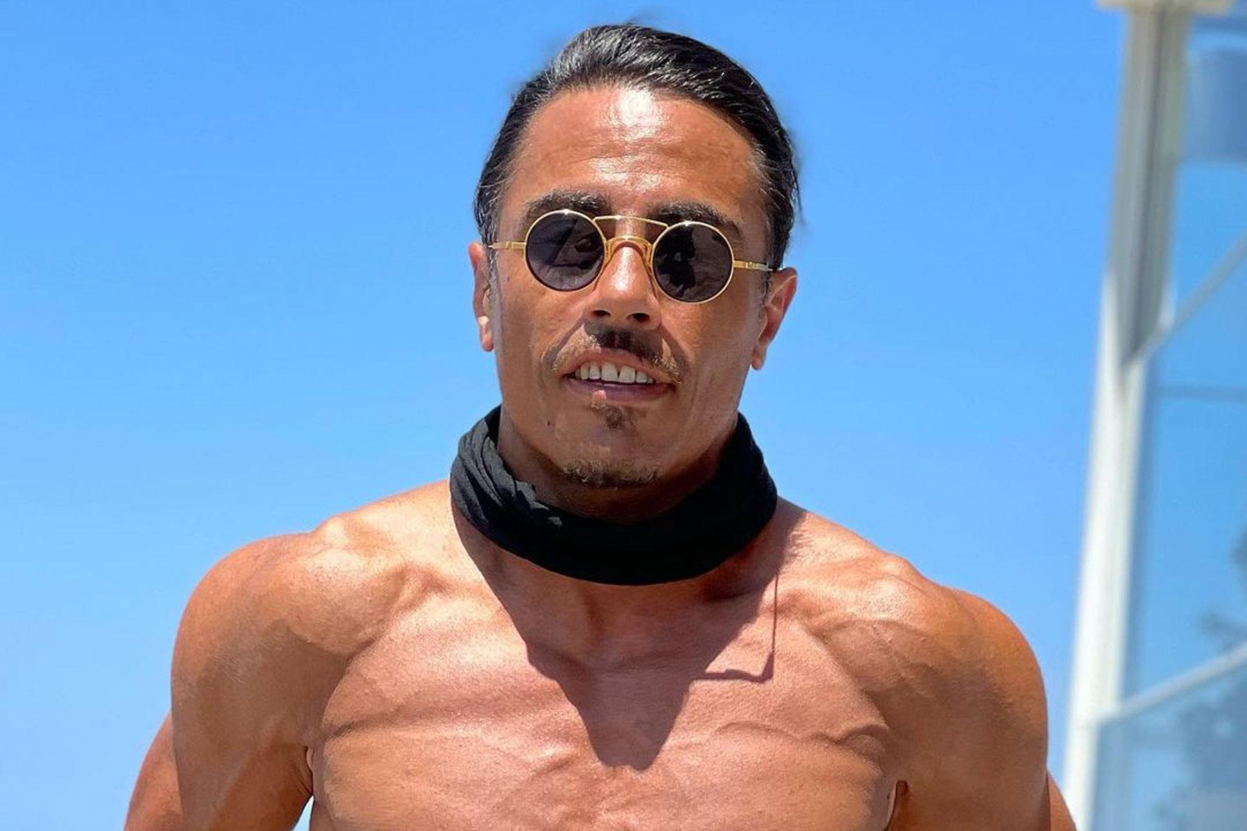 Salt Bae Reveals 'Spartan' Diet Secret For Ultimate Shredding