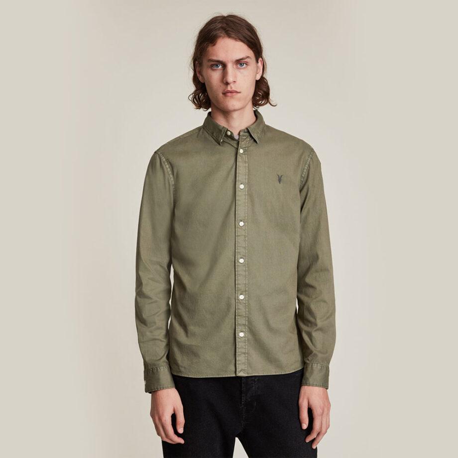 Dmarge best-mens-button-down-shirts AllSaints