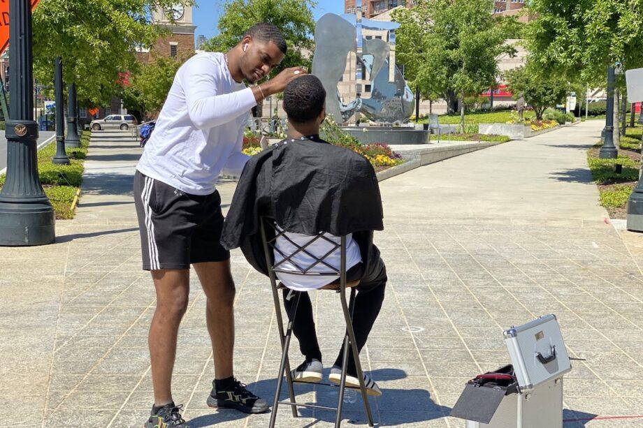 Australian Men Enjoy 'Haircut Hangouts' As Barbers Exploit Government Loophole