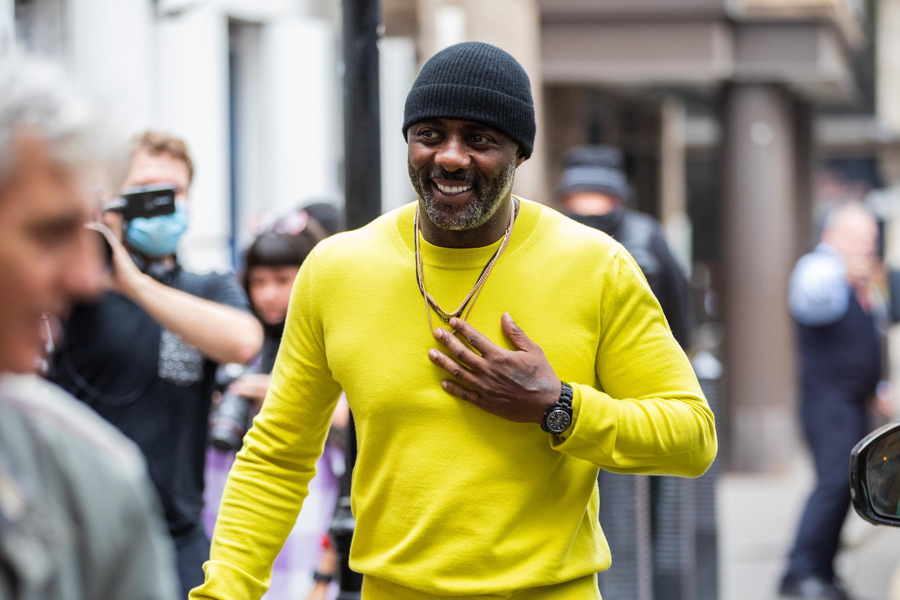 Idris Elba's 'Stealthy' Custom Rolex Is Absolute James Bond Material