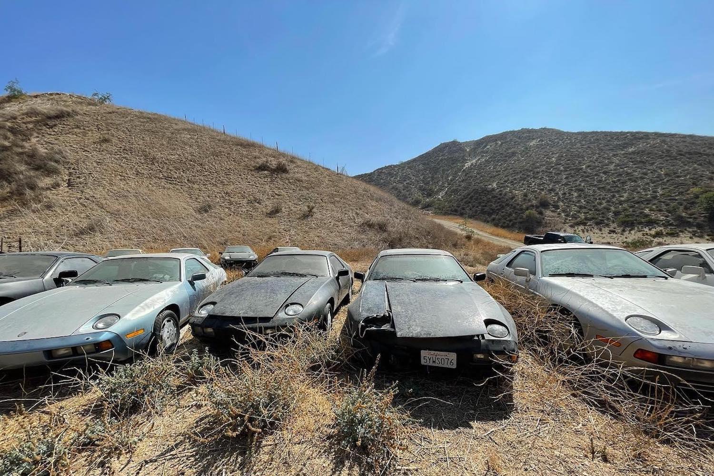 Crazy American Bastard Lets Rare Porsches Waste Away In Desert