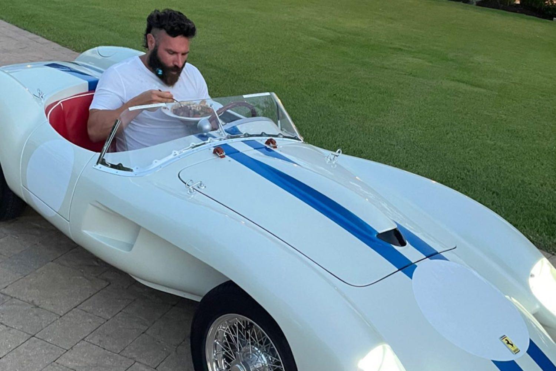 Dan Bilzerian Shows Off Ferrari 'Clown Car' Worth More Than Your Salary