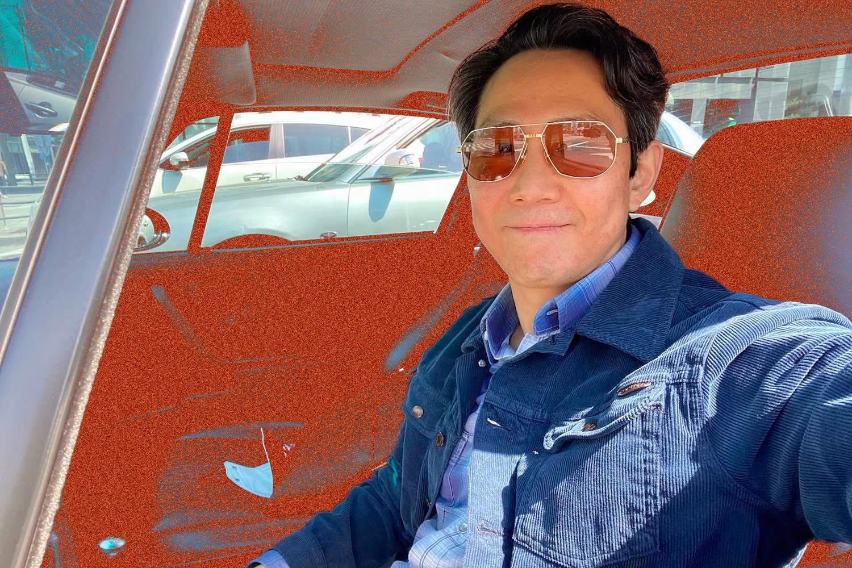 'Squid Game' Star Celebrates Success With Beautiful Vintage Porsche Pickup
